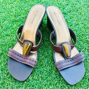 Karen Scott Wedge Sandals